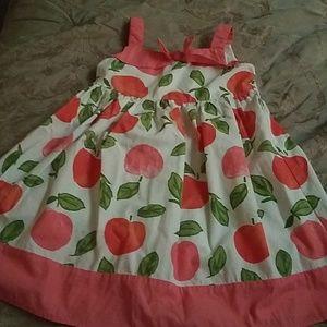Gymboree peaches vintage look sundress